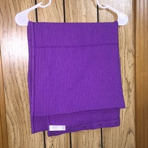 Purple Lululemon vinyasa scarf